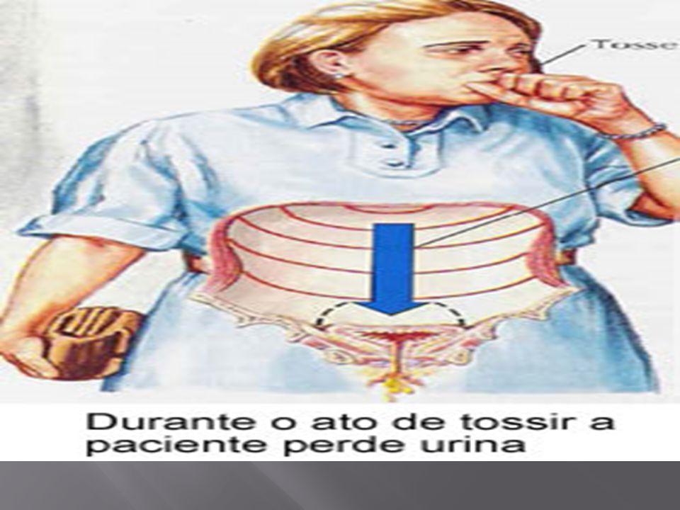 O diagnóstico deve basear-se a partir de três pontos, são estes: a) História Clínica: deve pesquisar-se sobre a duração da patologia; a idade de inicio dos sintomas; a freqüência e o volume de urina; enurese noturna na infância; cirurgia pélvica previa; passado obstétrico; história de infecções genitais; menopausa; estrogenioterapia; prolapso genital; uso de medicamentos; história pregressa de patologias como Parkinson, Diabetes, Demência.