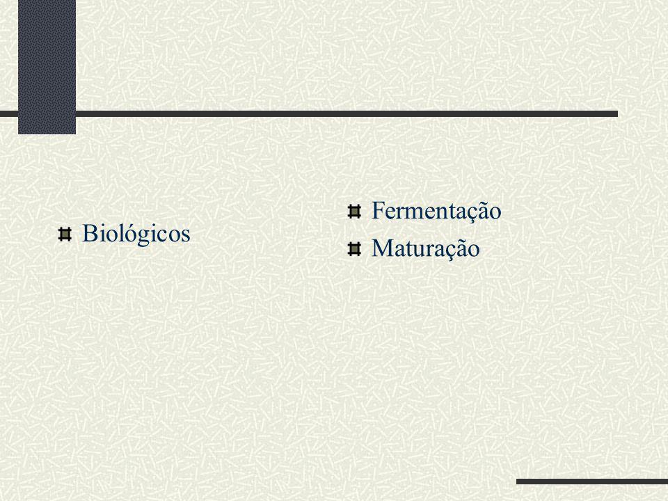 Biológicos Fermentação Maturação