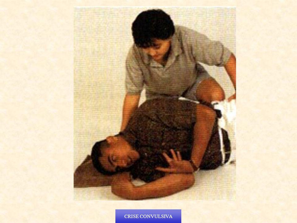 Não tente restringir os movimentos da vítima.