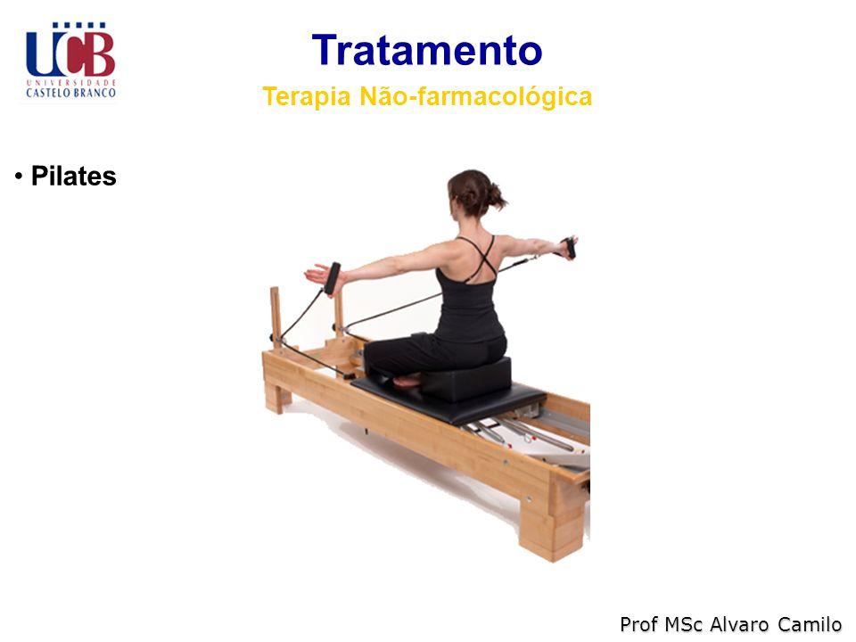 Tratamento Terapia Não-farmacológica Prof MSc Alvaro Camilo Pilates