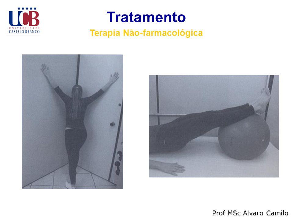 Tratamento Terapia Não-farmacológica Prof MSc Alvaro Camilo