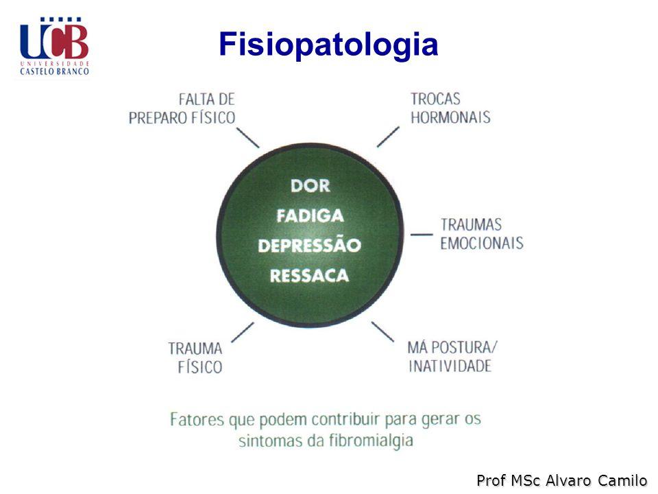 Fisiopatologia Prof MSc Alvaro Camilo