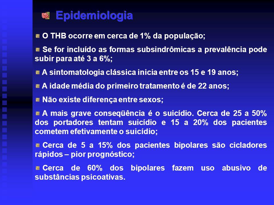 O THB ocorre em cerca de 1% da população; Se for incluído as formas subsindrômicas a prevalência pode subir para até 3 a 6%; A sintomatologia clássica