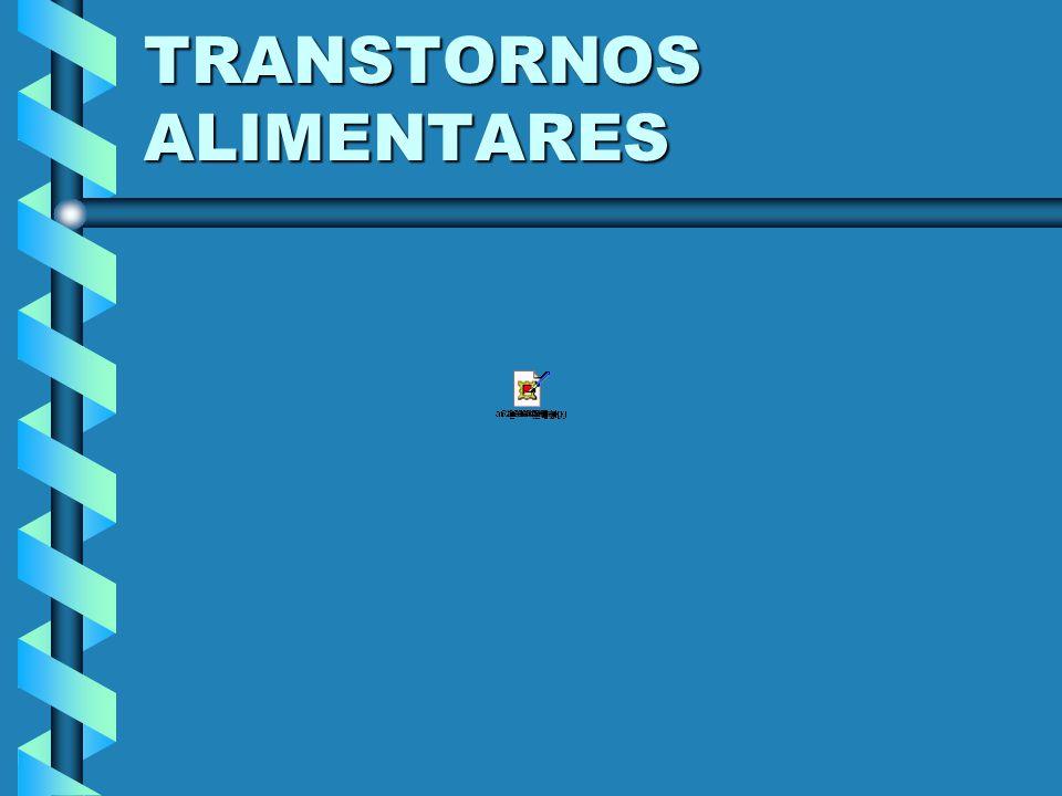 TRANSTORNOS ALIMENTARES SEM OUTRA ESPECIFICAÇÃO – CID 10 1.