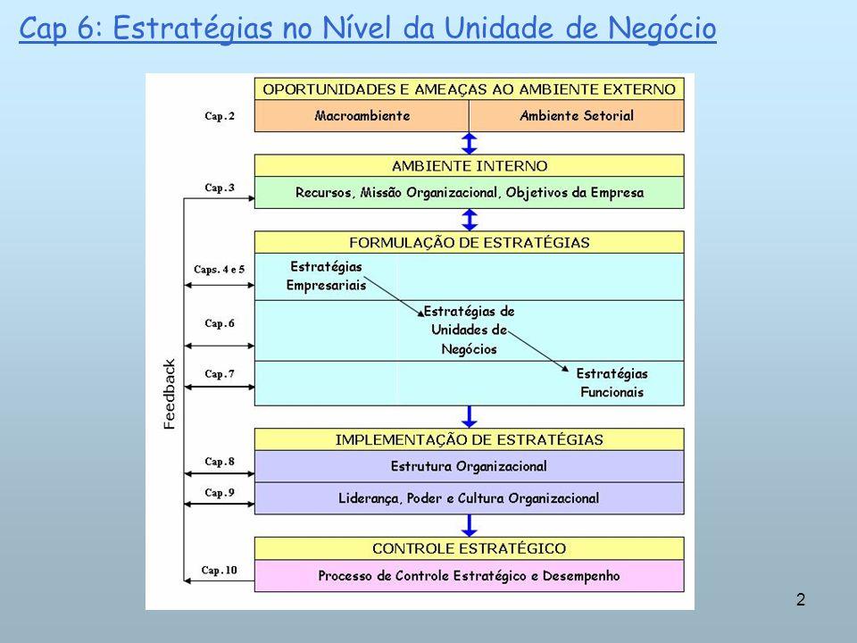 2 Cap 6: Estratégias no Nível da Unidade de Negócio