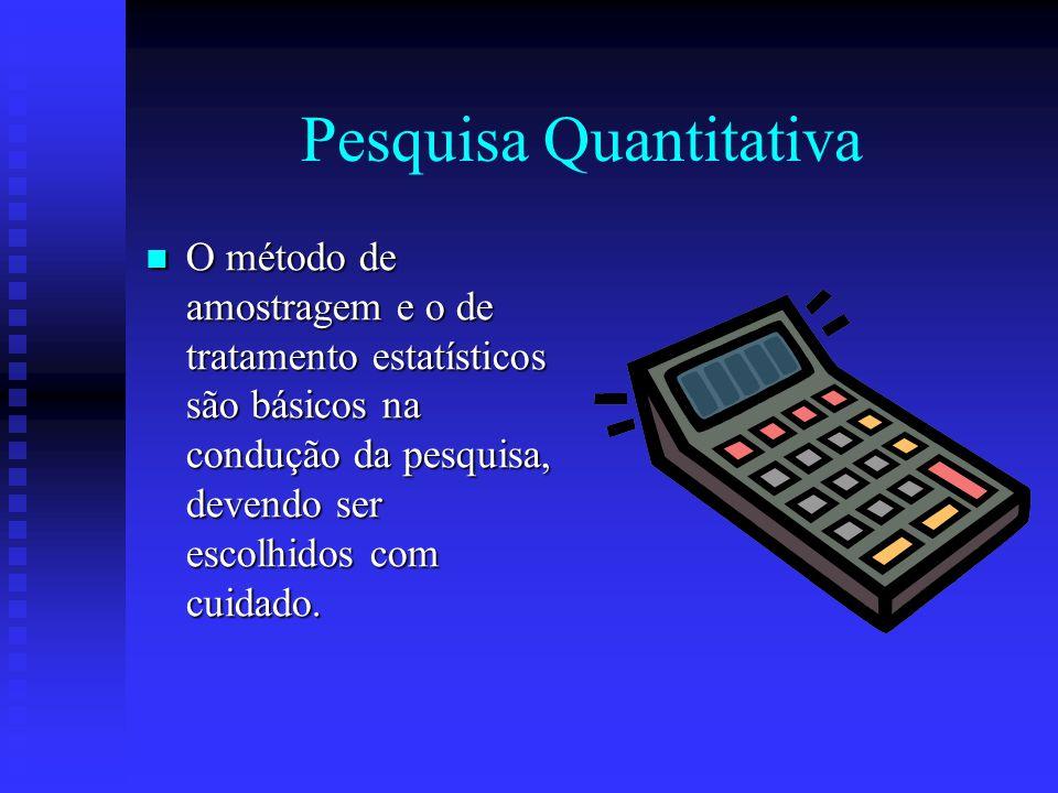Caracterização da Pesquisa Quanto a Constituição do Objeto Pesquisa quantitativa – fato relativo ao mundo concreto, objetivo e mensurável, concebido c