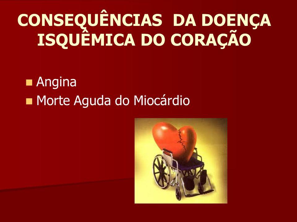 ANGINA A angina ou angina pectoris é uma dor ou uma pressão torácica temporária que aparece quando o músculo cardíaco não recebe bastante oxigênio.