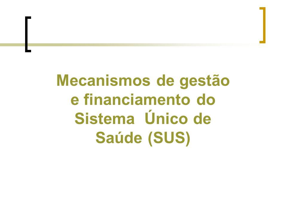 Brasil – distribuição dos municípios, segundo o número de habitantes - 2000 Fonte: www.datsus.gov.brwww.datsus.gov.br SUS: problemas decorrentes das normas de gestão - municipalização