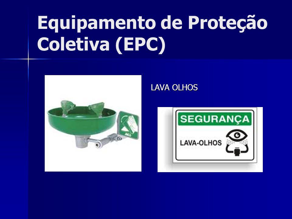Equipamento de Proteção Coletiva (EPC) LAVA OLHOS LAVA OLHOS