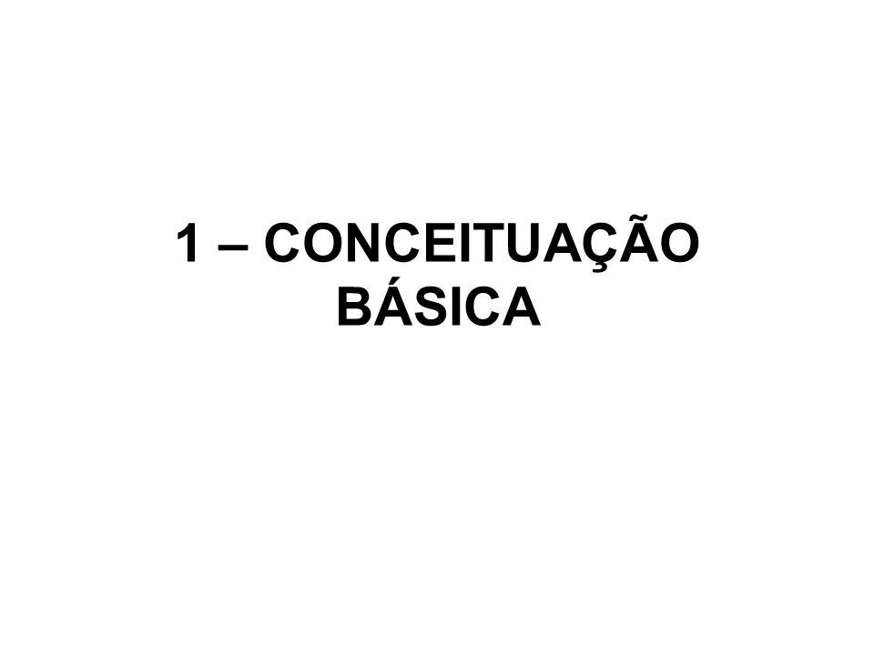 1 – CONCEITUAÇÃO BÁSICA