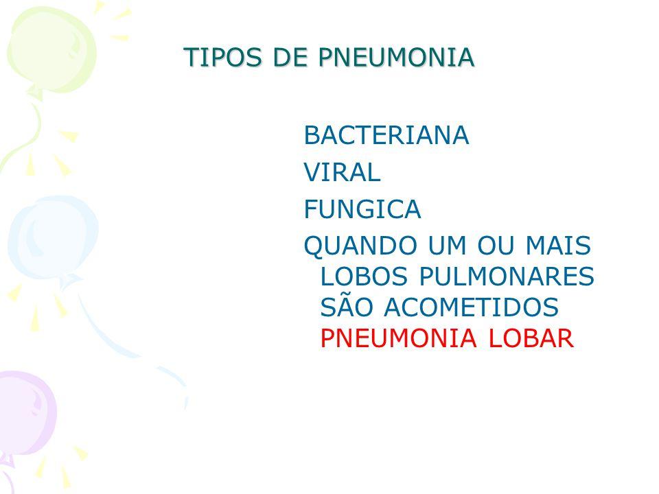 Hiv Pneumonias atipicas e oportunistas Pneumocystis carinii ou Mycoplasma Pneumoniae.