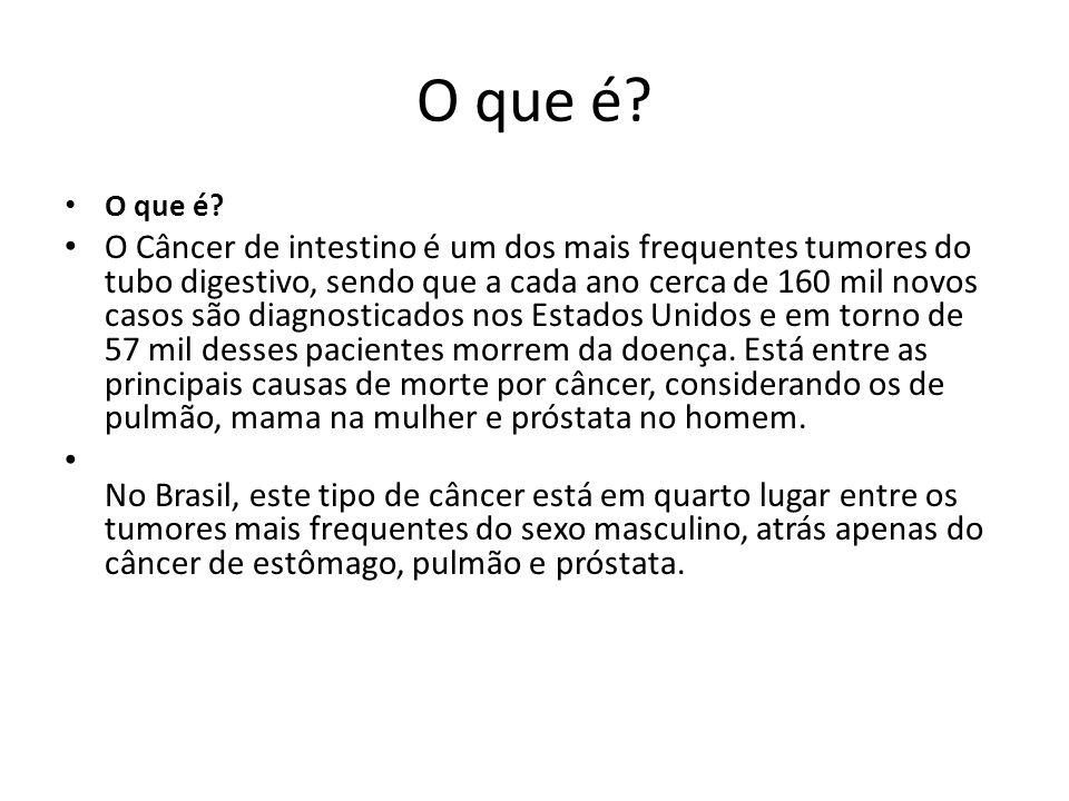 6) Antecedentes pessoais de câncer: Mulheres que tiveram câncer de ovário, corpo do útero (endométrio) ou mama têm maior risco de desenvolver câncer colorretal.