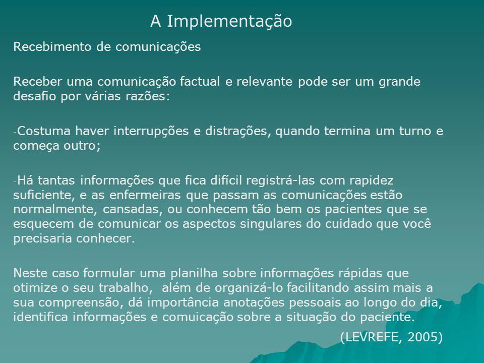 Recebimento de comunicações Receber uma comunicação factual e relevante pode ser um grande desafio por várias razões: - - Costuma haver interrupções e