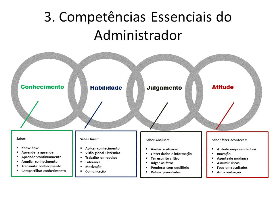 3. Competências Essenciais do Administrador