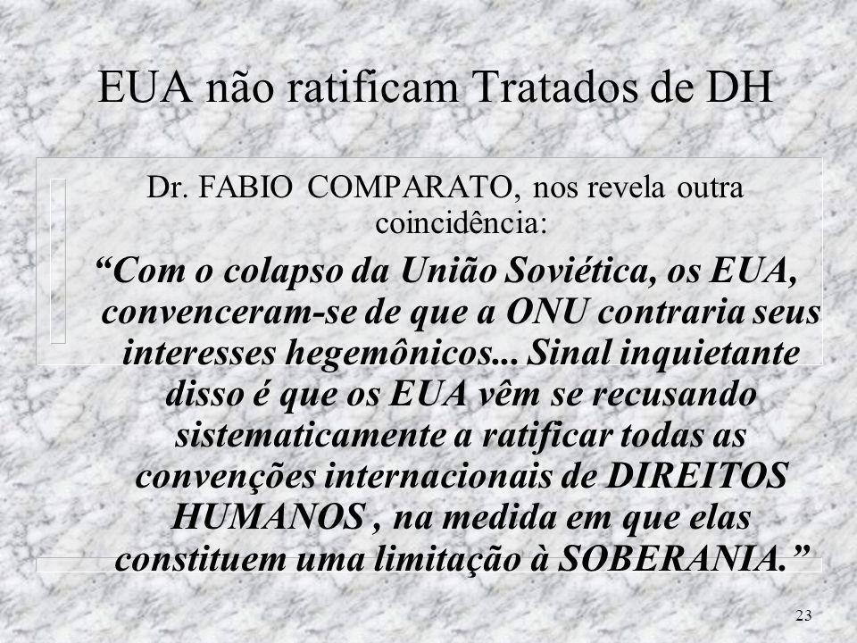 22 Interesses ULTRA-NACIONAIS? Prof. LÍVIO SANSONE, UFBA – constata 1998 n O Brasil nunca foi um paraíso racial, nem tampouco é hoje um inferno racial