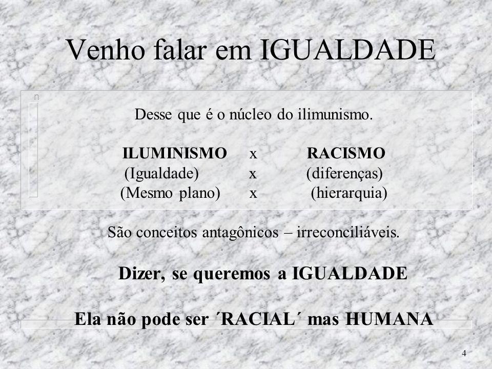 24 Condenados ao RACISMO.