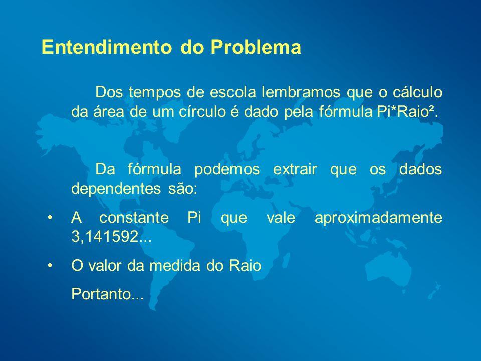 Argumentos de Entrada: Duas notas quaisquer (Ex: Nota1 e Nota2) Processamento: Média Aritmética, Media (Nota1+Nota2)/2.
