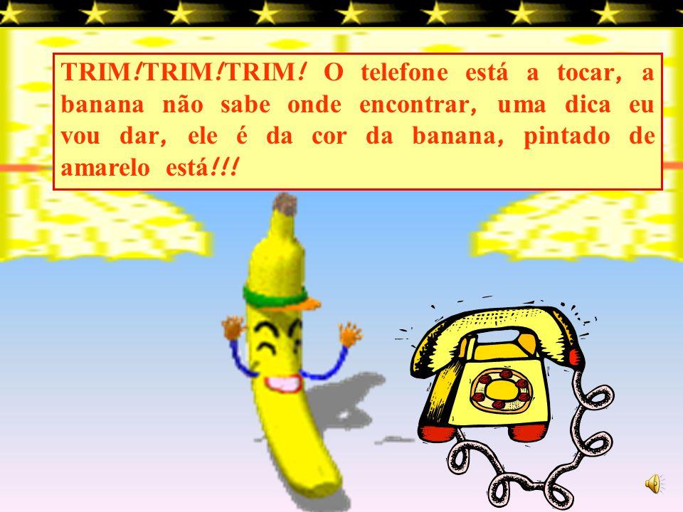 Nessa casinha mora uma banana, vamos visit á- la?