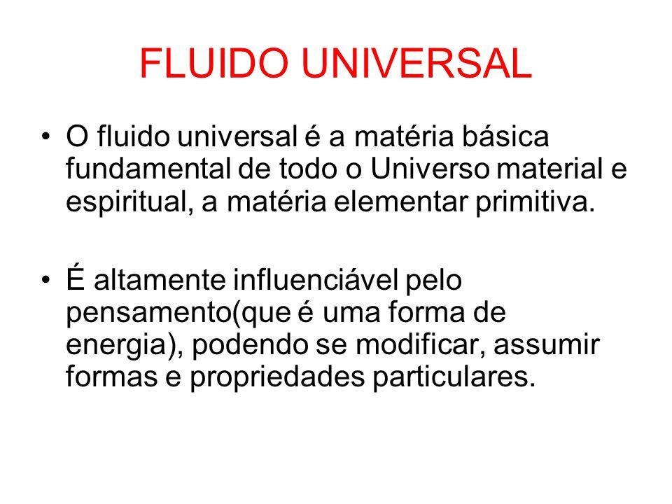PRINCÍPIO VITAL uma das modificações mais importantes do fluido universal.