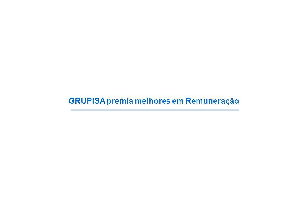 24º Prêmio Grupisa Beverly Zimpeck 2013 22 / 11 / 13 GRUPISA premia melhores em Remuneração