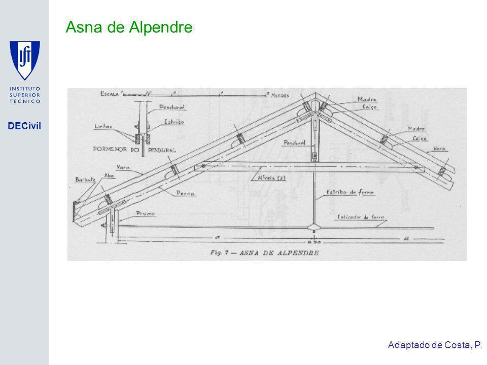 DECivil Asna de Alpendre Adaptado de Costa, P.