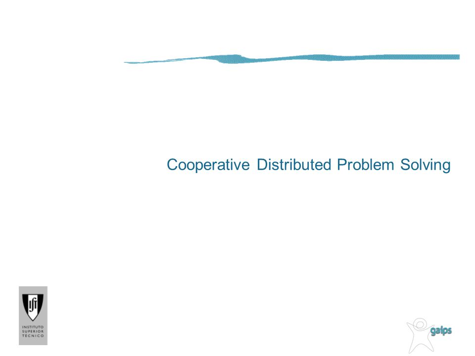 Cooperative Distributed Problem Solving