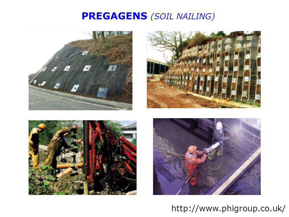 PREGAGENS (SOIL NAILING)