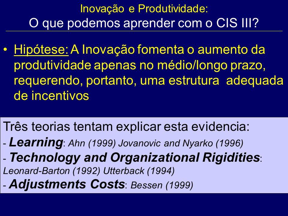 Inovação e Produtividade: O que podemos aprender com o CIS III.