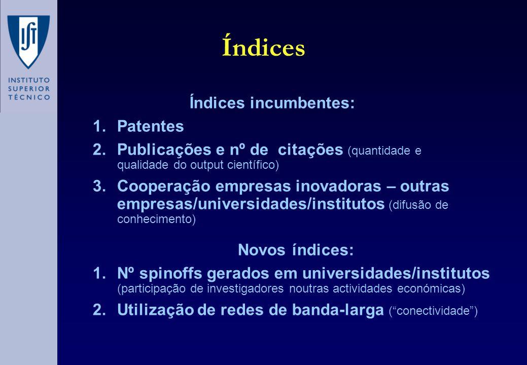 Patentes Tentativa de reconciliar os interesses do inventor de proteger e rentabilizar o seu investimento e da sociedade em difundir e utilizar esse novo conhecimento (Pavitt, 1997)