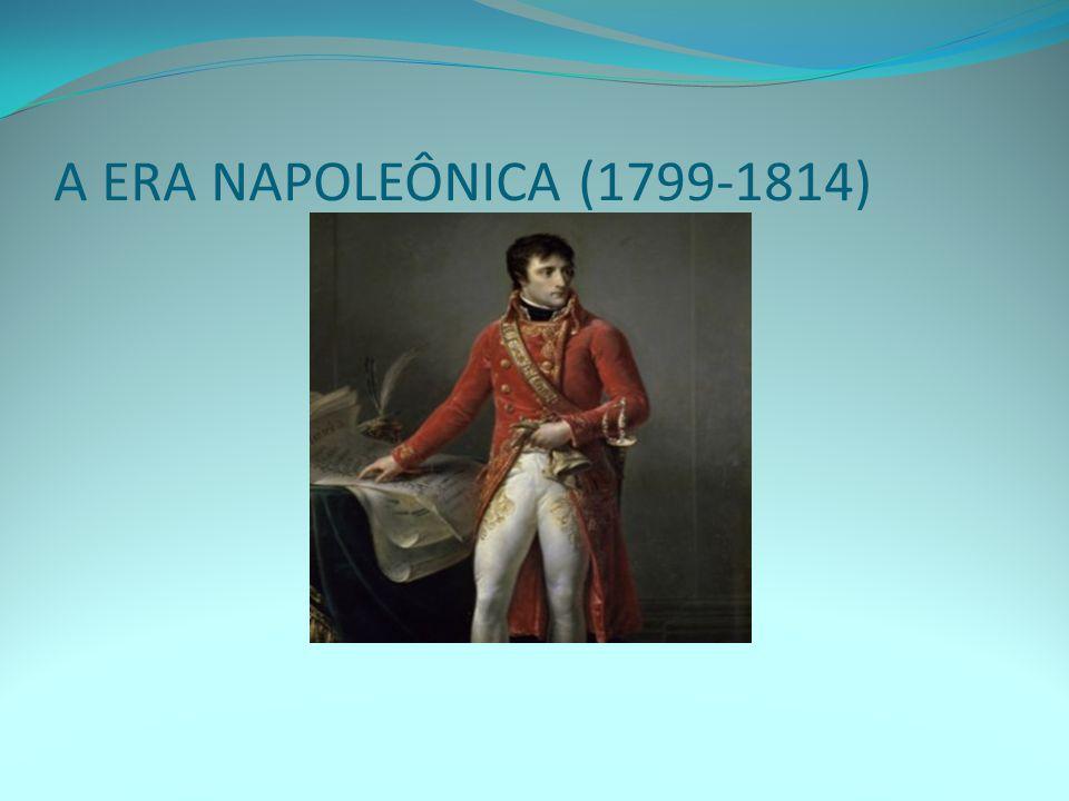 SÍNTESE: Coube a Napoleão Bonaparte a difícil tarefa de consolidar a estrutura societal burguesa na França – consolidando os ideais da Revolução Francesa; Após a reação termidoriana (1795) que pôs fim ao terror jacobino, os girondinos constituíram o Diretório, contudo as pressões políticas persistiram de grupos reacionários (realistas) e revolucionários (camadas populares);