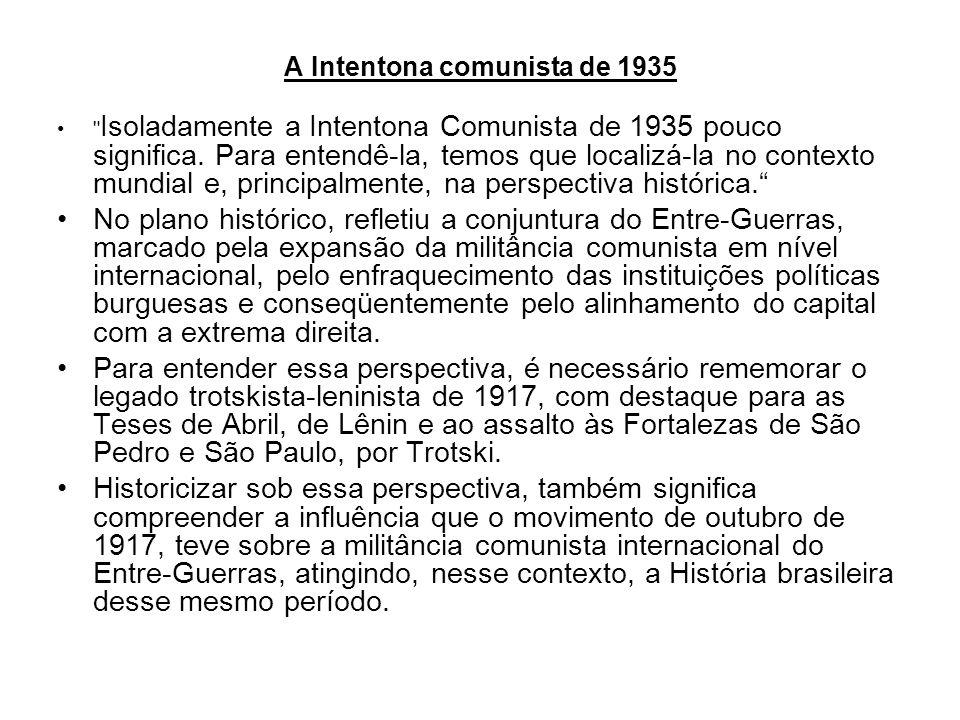 A Intentona comunista de 1935