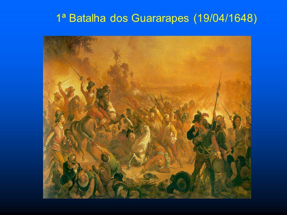 1ª Batalha dos Guararapes (19/04/1648)