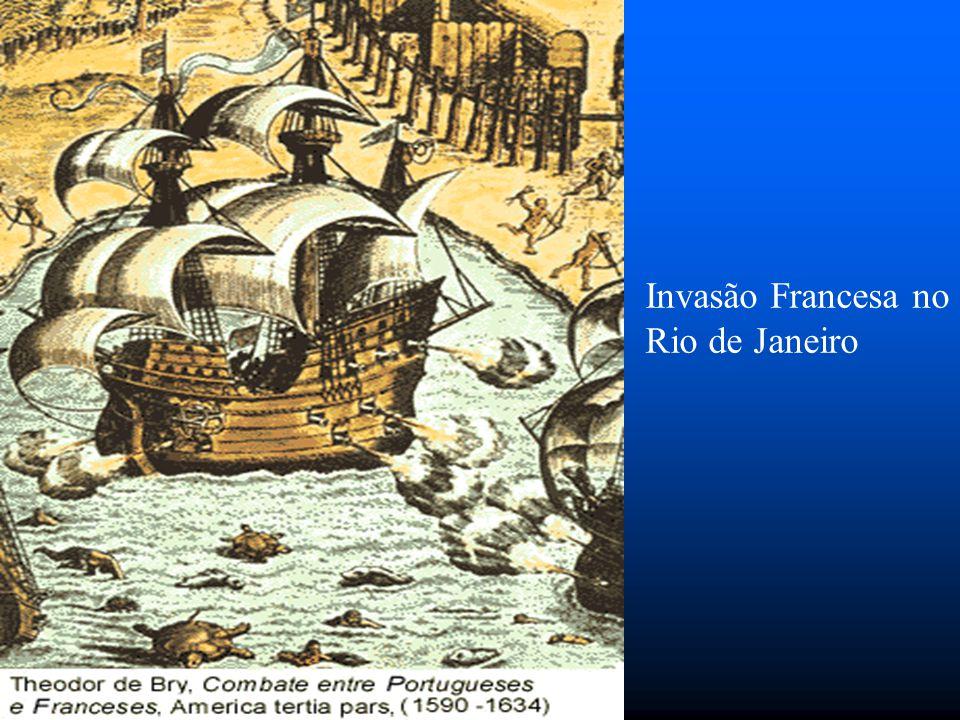 Estácio funda a cidade do Rio de Janeiro, como uma base de luta contra os franceses.