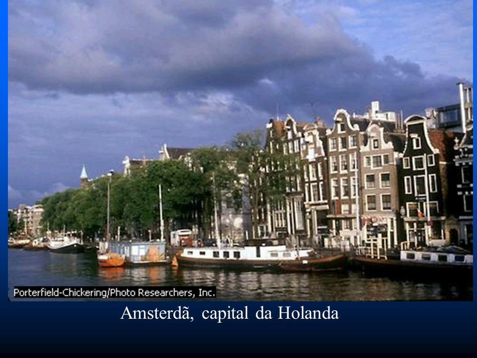 Amsterdã, capital da Holanda