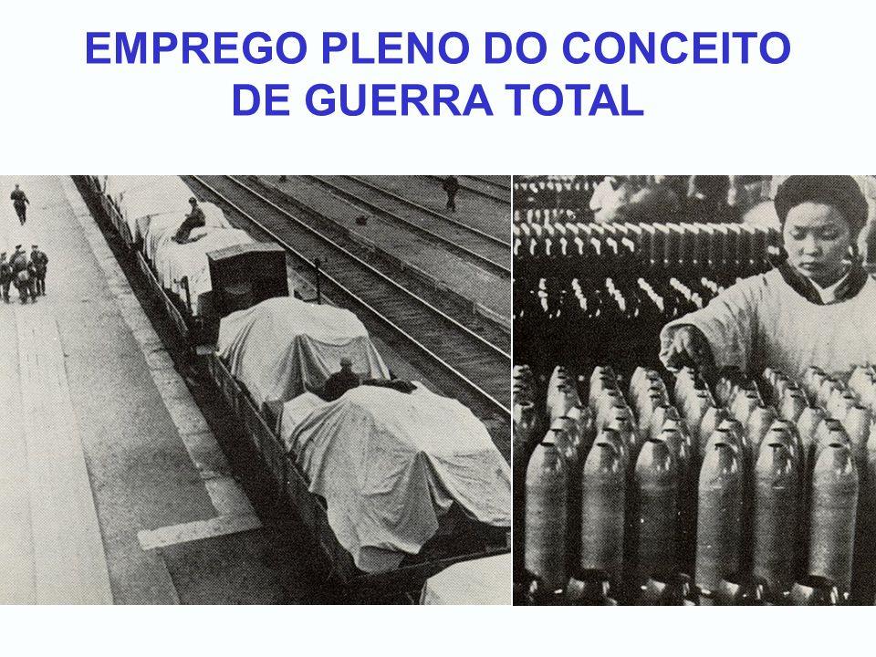 EMPREGO PLENO DO CONCEITO DE GUERRA TOTAL