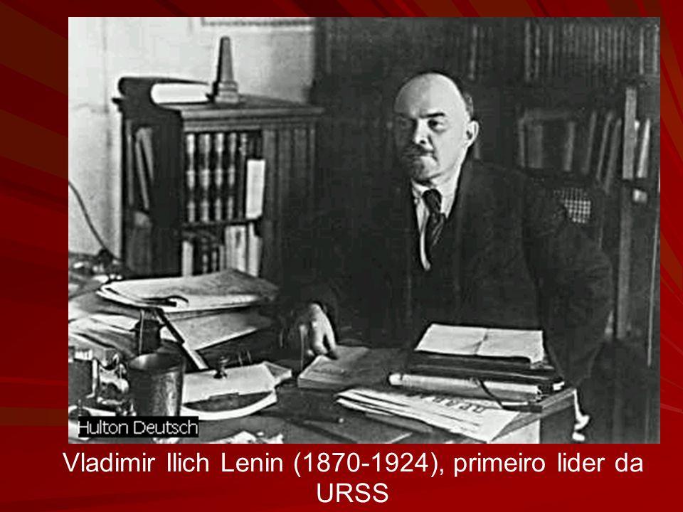 Vladimir Ilich Lenin (1870-1924), primeiro lider da URSS