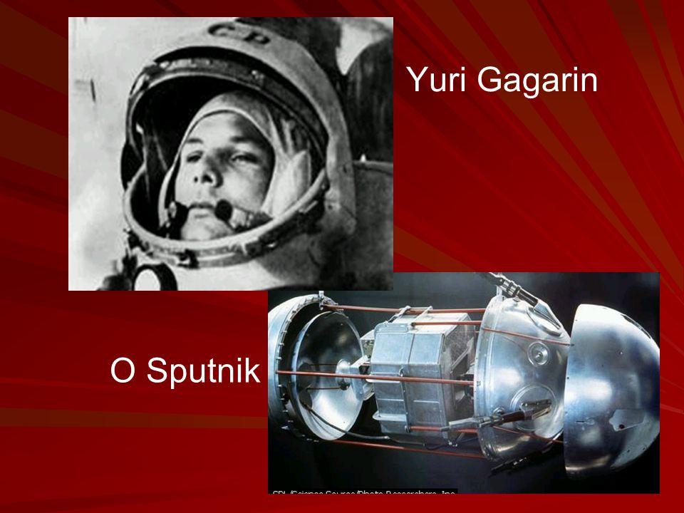 Yuri Gagarin O Sputnik