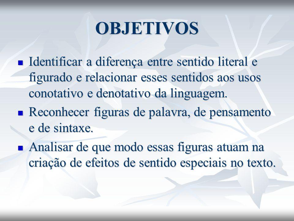 Paradoxo ou oxímoro Associação de termos contraditórios, inconciliáveis.