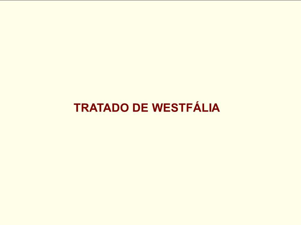 TRATADO DE WESTFÁLIA