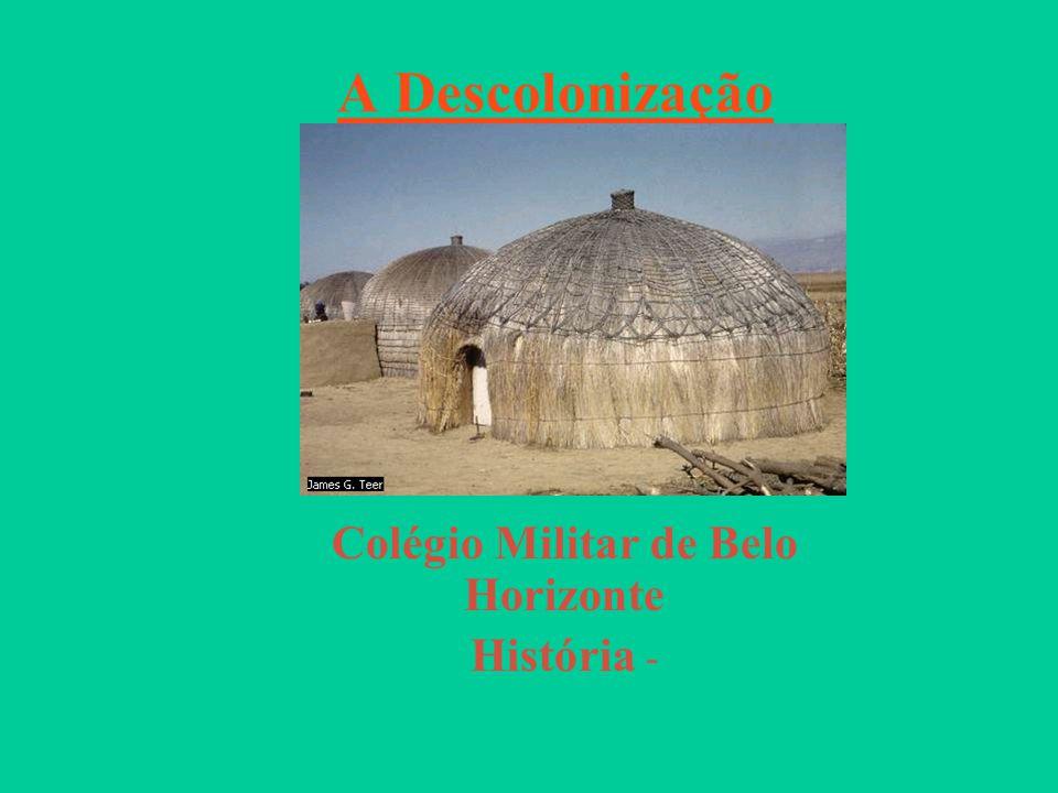 A Descolonização Afro-Asiática A DESCOLONIZAÇÃO AFRO-ASIÁTICA Entre 1945 e 1960 a maioria dos países africanos e asiáticos conquistaram a independência nacional.
