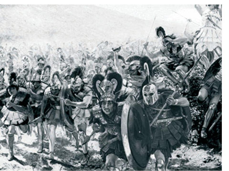 2ª Guerra Médica: Em 480 a.C., contra XERXES Nesta guerra destacou a ação de 300 Espartanos na BATALHA DE TERMÓPILAS.