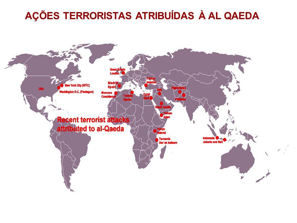 AÇÕES TERRORISTAS ATRIBUÍDAS À AL QAEDA