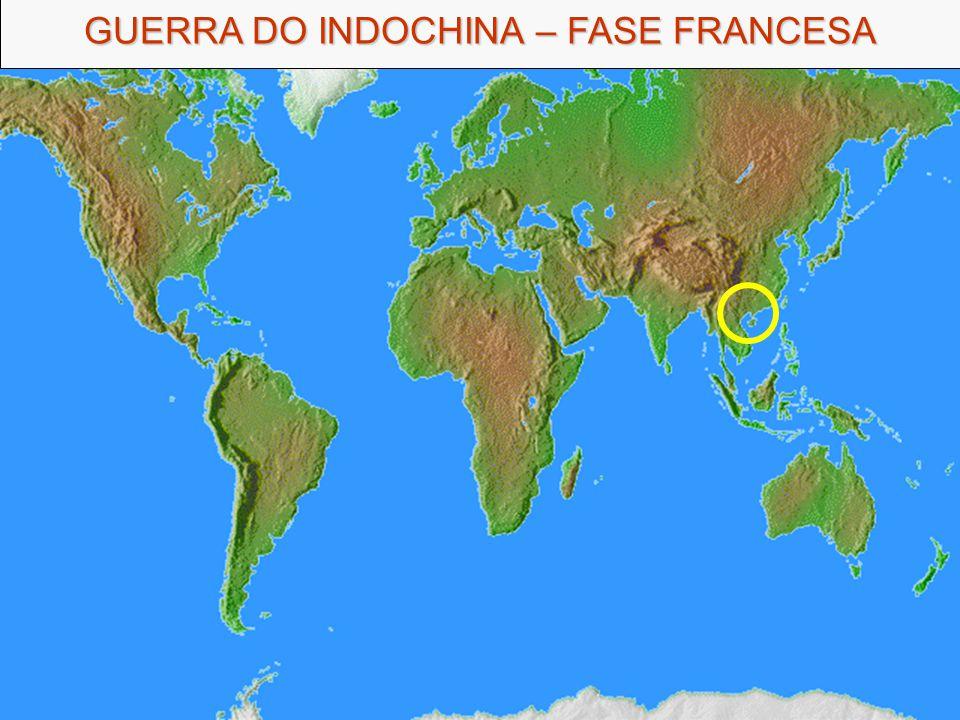GUERRA DO INDOCHINA – FASE FRANCESA