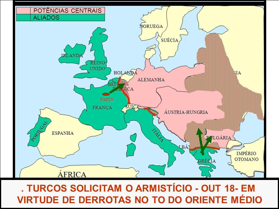 ÁFRICA ESPANHA FRANÇA ALEMANHA RÚSSIA ITÁLIA REINOUNIDO PORTUGAL GRÉCIA BULGÁRIA ROMÊNIA SÉRVIA ALBÂNIA HOLANDA SUÉCIA NORUEGA.