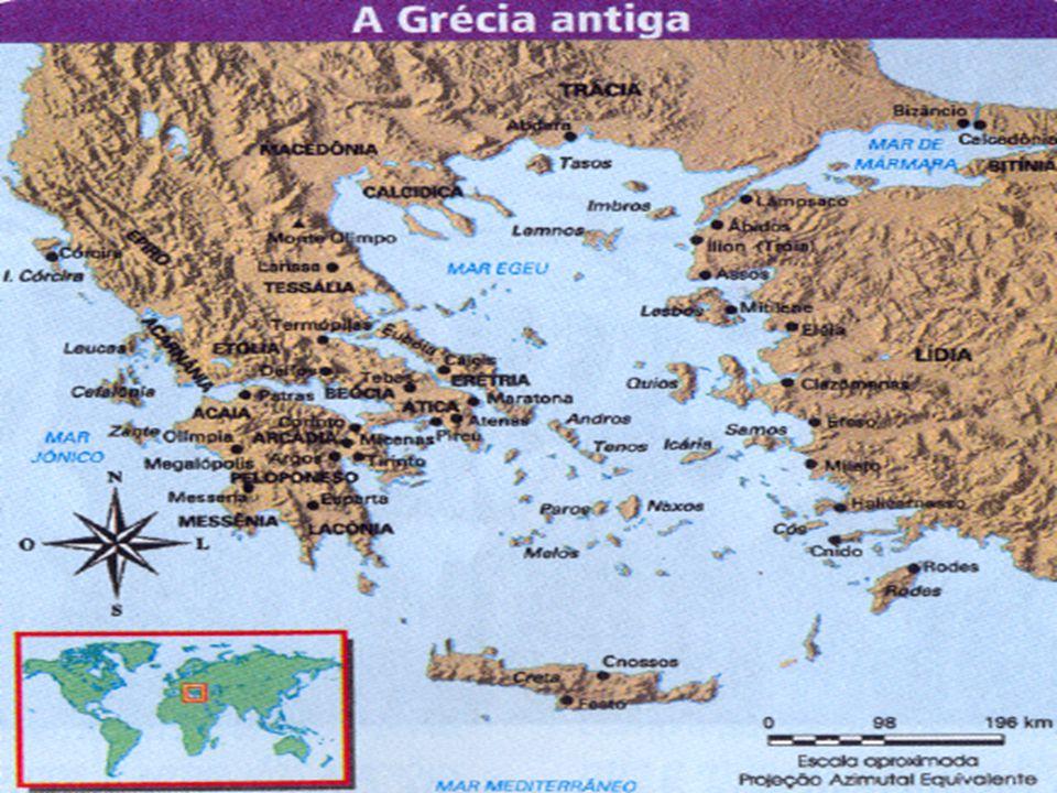 ATENAS Característica política: monarquia (basileu) substituida pelo arcontado, governo oligárquico-aristocrático.
