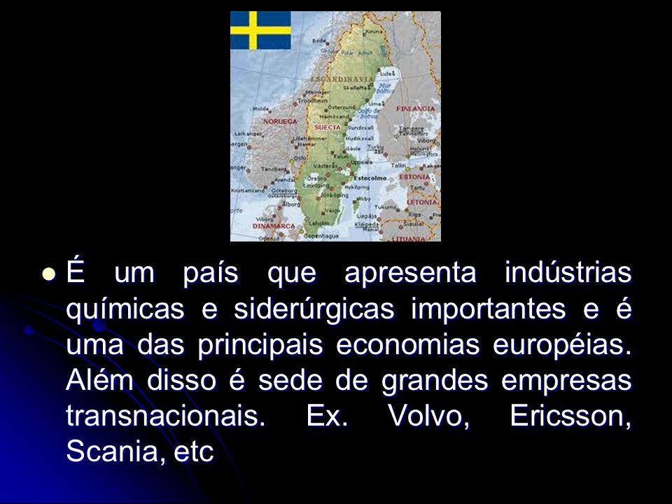 É um país que apresenta indústrias químicas e siderúrgicas importantes e é uma das principais economias européias. Além disso é sede de grandes empres