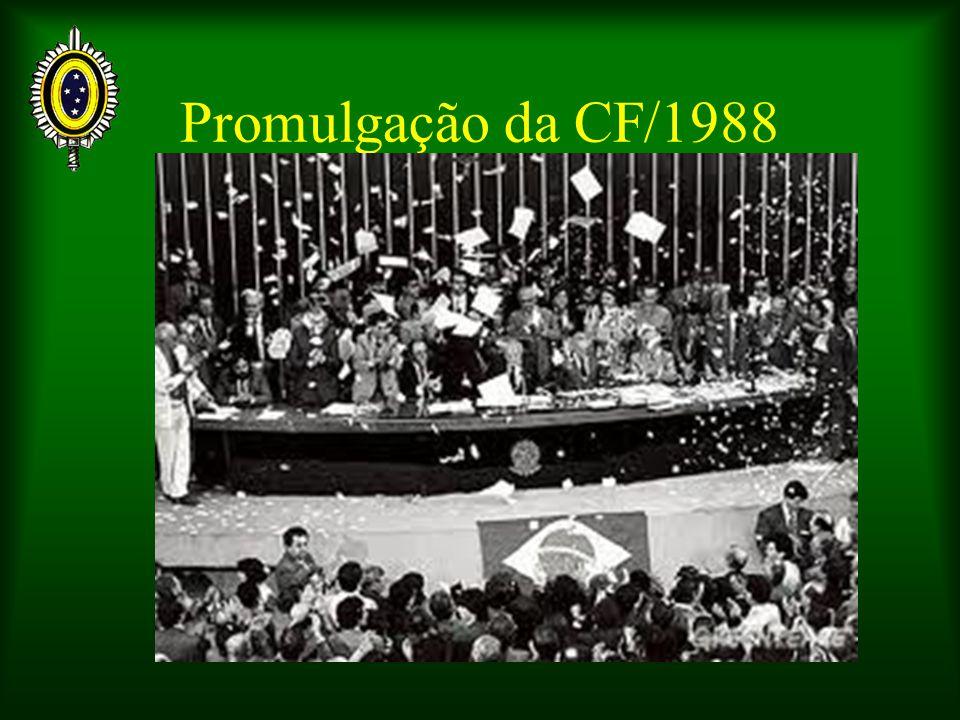 Promulgação da CF/1988