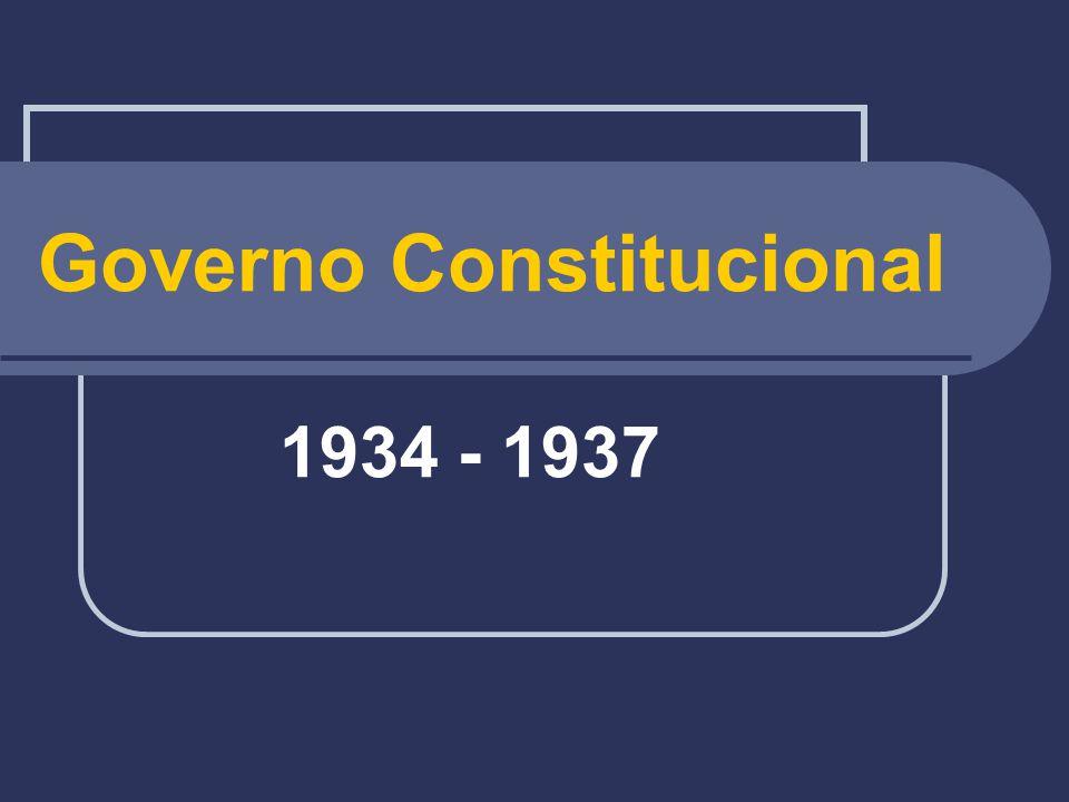 Governo Constitucional 1934 - 1937