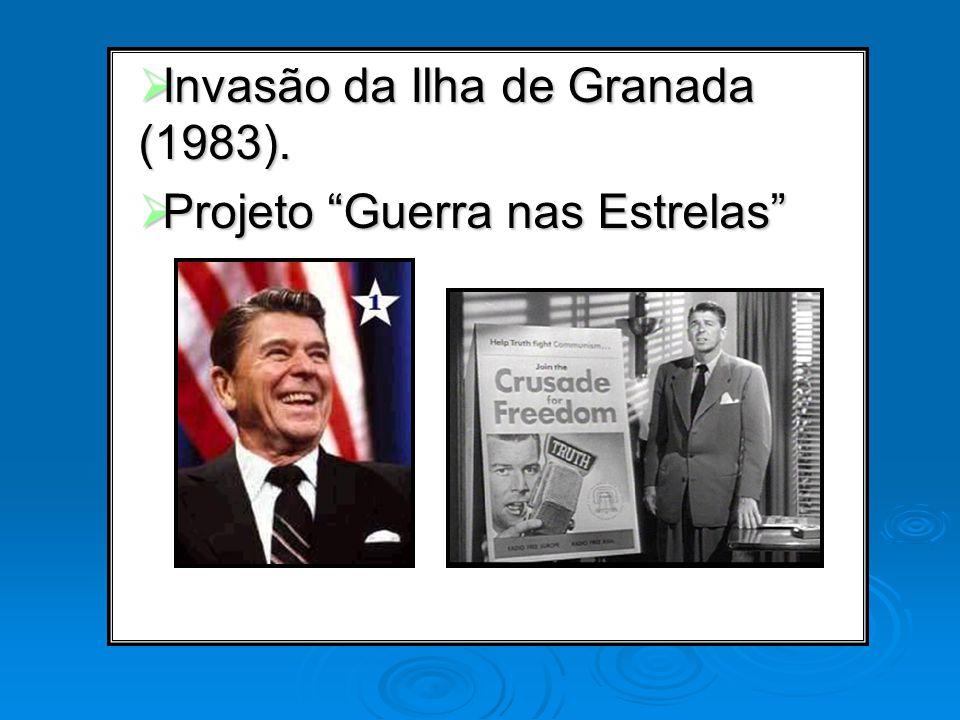 Invasão da Ilha de Granada (1983). Invasão da Ilha de Granada (1983). Projeto Guerra nas Estrelas Projeto Guerra nas Estrelas