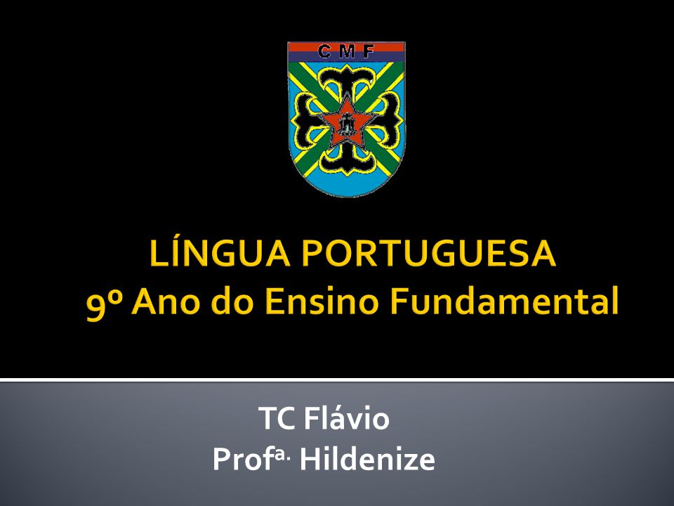 TC Flávio Prof a. Hildenize